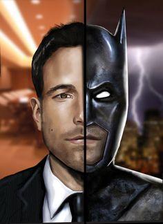Ben Affleck - Batman by HeroforPain on deviantART