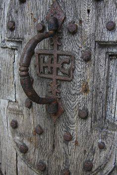 Ancienne poignée de porte