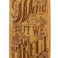 Inspiração Tipográfica #148 - Choco la Design   Choco la Design   Design é como chocolate, deixa tudo mais gostoso.