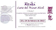 Nuevo curso Nivel 1 Reiki en Mardel F - Importe: 100€ - Reserva tu plaza!