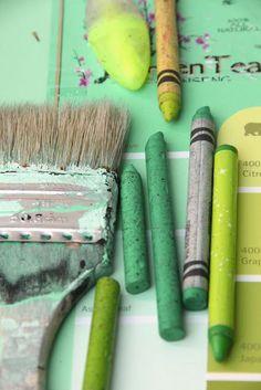 green artist ** grüne KÜnstlerwerkezeuge