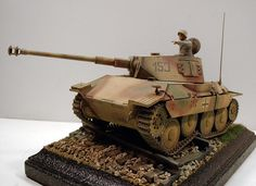 Hetzer with simplified Panzer IV turret