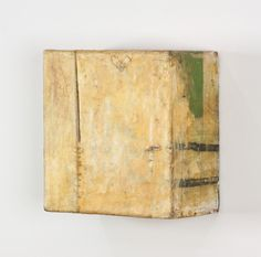 justanothermasterpiece: Lawrence Carroll, You, 1986-1987, Oil, wax, canvas and wood, 12 x 11 3/4 x 6 in.