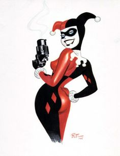 Harley Quinn by Bruce Timm. One of my fav illustrators.