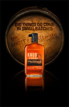 Knob Creek® Bourbon Whiskey — Single Barrel - Don't mix this up with its standard 100 proof sibling.  At 120 proof, Knob Creek packs a punch, one that is belied by its smooth taste.  Reasonably priced gem.