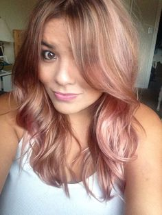 Stunning Rose Gold Hair Ideas!!!                                                                                                                                                      More