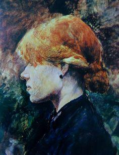 Os penteados de Toulose Lautrec