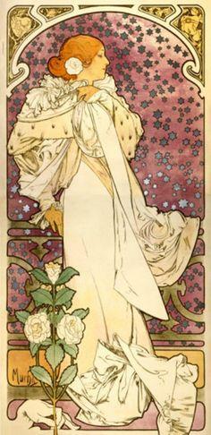La Dame Aux Camelias Cross stitch pattern pdf format by diana70, $6.50
