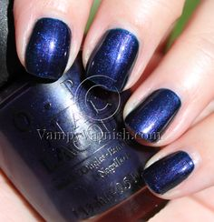 OPI Russian Navy - just had a pedicure w/this shade & it's beautiful