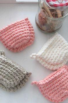 Crochet Potholder Patterns, Crochet Mitts, Crochet Hot Pads, Crochet Towel, Crochet Dishcloths, All Free Crochet, Unique Crochet, Single Crochet, Crochet Crafts