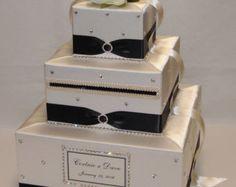 Etsy の Elegant Custom Made WeddingCard Box by ExoticWeddingBoxes