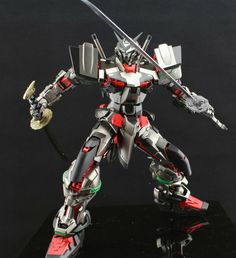 PG Gundam Astray Red Frame - Painted Build Modeled by yipfeng Astray Red Frame, Gundam Astray, Gundam Art, Mobile Suit, Conceptual Art, Painting Frames, Samurai, Deadpool, Superhero