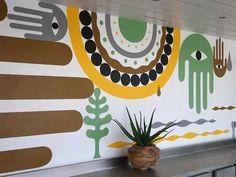 lucky left hand - Steven Burke Steven Burke, Wall Murals, Wall Art, Living Room Sofa Design, Wall Drawing, Love And Light, Home Art, Decoration, Abstract