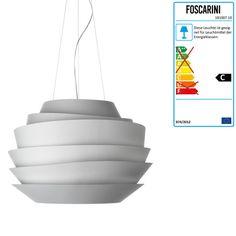 Foscarini - Le Soleil Pendelleuchte, weiß Weiß H:43 Jetzt bestellen unter: http://www.woonio.de/produkt/foscarini-le-soleil-pendelleuchte-weiss-weiss-h43/