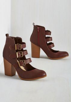 To Top-Notch It All Off Heel, @ModCloth