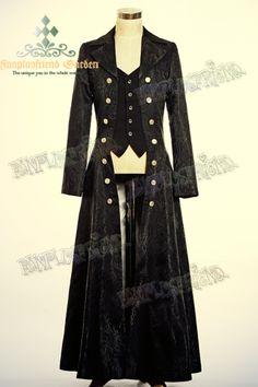 http://fanchaos.com/fanplusfriend/c6/Elegant_Gothic_Flase_2pcs_Brocade_Long_Coat_CT00154_01.jpg