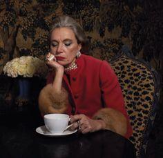 AV. I Love Coffe, Woman, Ethnic Recipes, Red, Color, Colour, Women, Colors