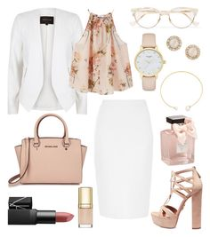 """Untitled #242"" by angelicaaans ❤ liked on Polyvore featuring Givenchy, Fallon, Aquazzura, River Island, MANGO, Michael Kors, Kate Spade, Cutler and Gross, Abercrombie & Fitch and Dolce&Gabbana"