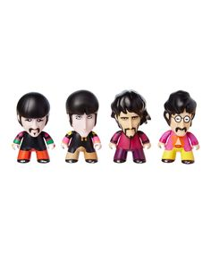 Loving this The Beatles Sgt. Pepper Figure Set on #zulily! #zulilyfinds