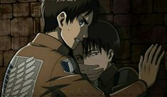 Check out more here I'm letting episodes of Attack on Titan's second season build up. I want to binge them when I get the chance. Ereri, Eren E Levi, Eren And Mikasa, Attack On Titan Meme, Attack On Titan Season, Attack On Titan Ships, Attack On Titan Fanart, Levi Ackerman, Anime Ships