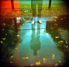 is there a ghost? - Lomography - Holga 120 CFN
