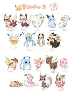 Choose Your Own Cross-Bred Pikachu. Purrloin Pikachu is awesome! Pokemon Fusion Art, Pokemon Fan Art, Pokemon Mix, Pokemon Memes, Pokemon Breeds, Pokemon Cards, Pikachu Pikachu, Pikachu Funny, Gijinka Pokemon