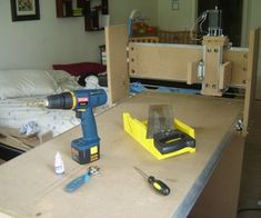 Completely build a CNC router from the ground up without plans, just your hands, some cheap materials and basic tools, and common sense. Did I mentio...