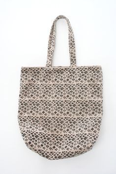 lina rennell & shannon south vegan tote // beklina