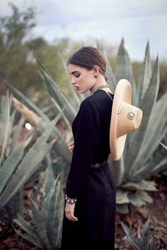 Desert Rose - September 2013 | wardrobe: blackcatvintage.com | styling…