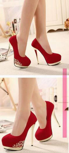 Valentine's Day Foot Wears Styles For Girls (1)