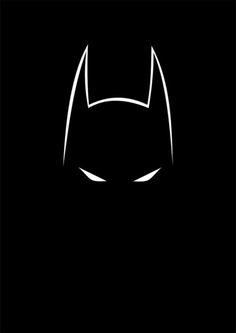 BATMAN...y la imponente silueta de su cabeza de muerciélago...!!!
