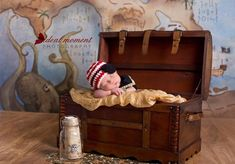 Pirate Hat and Eye Patch/Newborn Photo Prop by WillowsGarden, $22.00 Nautical theme newborn prop Baby Pirate Hat