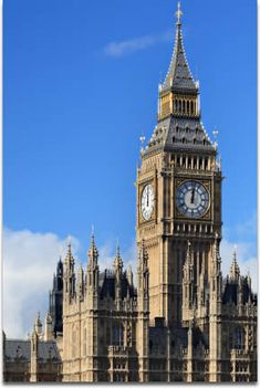Big Ben and the Houses of Parliament ...   London, England