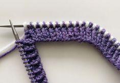 Latvialainen palmikko | Meillä kotona Knitting Stitches, Knitting Patterns, Crafts, Crocheting, Cottage, Socks, Summer, Projects, Fashion