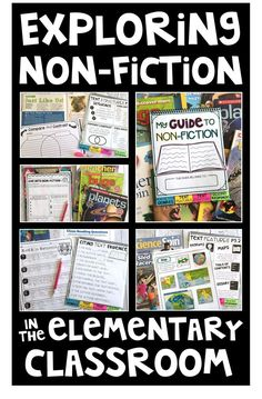 Looking for activities to introduce non-fiction to your upper grade students?! Check out my latest blog post on exploring information texts in the elementary classroom. I share tons of ideas for teaching and about non-fiction in a way that is engaging and meaningful for all learners.