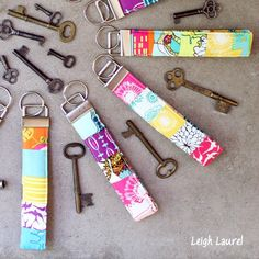 If you have a grade school kid that carries an extra house key, a custom made key fob can help keep the key from getting lost.