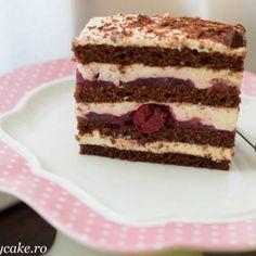 Prajitura Noisette - Lucky Cake Tiramisu, Mousse, Caramel, Amelie, Cake, Ethnic Recipes, Desserts, Food, Deserts