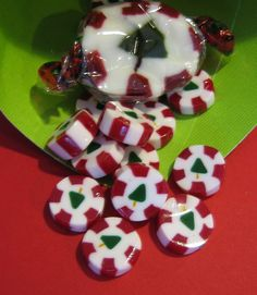 December Creative Play Day One: Polymer Clay Christmas Nougat Cane by Candace Jedrowicz ... DIY ... http://www.cool2craft.com/december-creative-play-day-one-polymer-clay-christmas-nougat-cane-by-candace-jedrowicz/#