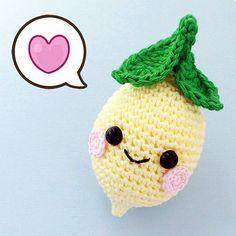 Free Pattern Kawaii Lemon Amigurumi - описание лимона крючком: https://vk.com/wall-3842870_10335 #amigurumi #freepattern