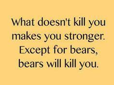 what doesnt kill you funny crazy jokes lol funny quotes humor humorous quotes Great Quotes, Quotes To Live By, Funny Quotes, Hilarious Sayings, Awesome Quotes, Clever Sayings, True Sayings, Bitch Quotes, Smile Quotes