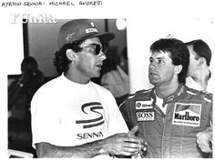Ayrton Senna Michael Andretti McLaren Ford 1993