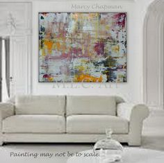 """Upt to 130"""" Custom Order a HUGE extra large XL Abstract painting by Marcy Chapman by MECArt on Etsy https://www.etsy.com/listing/173767603/upt-to-130-custom-order-a-huge-extra"""