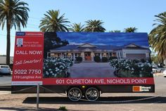 PRDnationwide Mildura take Property Advertising to a new level.