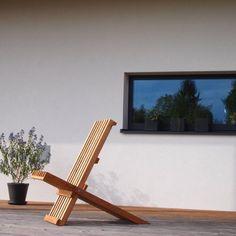 Bodenständig, aber mit moderner Wohnstruktur - Niederösterreich GESTALTE(N) Outdoor Chairs, Outdoor Furniture, Outdoor Decor, Sun Lounger, Home Decor, New Construction, Boden, Architecture, Chaise Longue