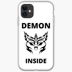 'Demon Inside' iPhone Case by RIVEofficial Funny Humour, Pin Pin, My Portfolio, Halloween 2020, Iphone Case Covers, Creepy, Custom Design, Finding Yourself, Digital Art