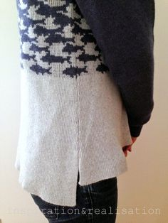 DIY -: the MC Escher sweater // #machine_knitting