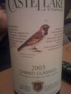 Castellare di castellana – Chianti 2003