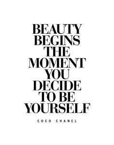 by CoCo Chanel💋 True Beauty ✍️.by CoCo Chanel Citation Coco Chanel, Coco Chanel Quotes, Quotes To Live By, Me Quotes, Motivational Quotes, Inspirational Quotes, Hard Quotes, Leader Quotes, Writer Quotes