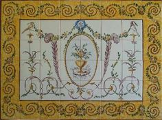 Decorative Spanish Tile 16Th Century French Tile Murals Spanish Tile Victorian Tile