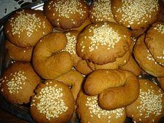 """Κρητικά κουλουράκια κανέλλας - Cretan Cinnamon """"Buns"""""""